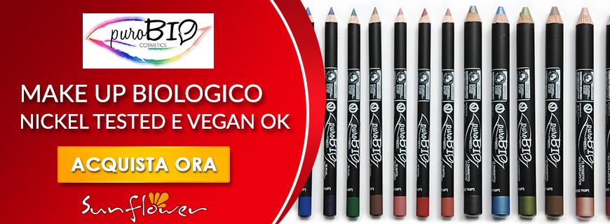 Make Up Bio e Vegan