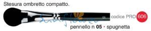 Pennello professionale n. 05, spugnetta - Cinecittà Make Up