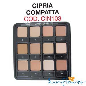 Tavolozza 10 Ciprie Compatte - Cinecittà Make Up