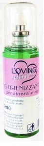 Loving Igienizzante Spray - 100 Ml