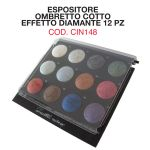 Espositore 12 Ombretti Cotti Diamante - Cinecittà Make Up