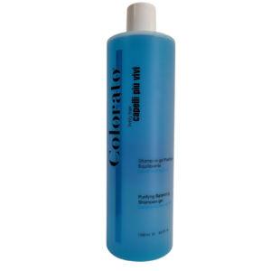 Shampoo gel purificante - Linea per capelli Colorato