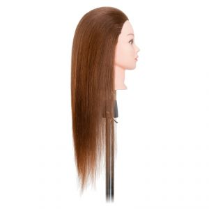Testina lunga 50 cm (capelli naturali)