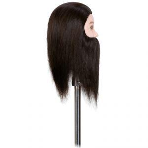 Testina uomo completa (capelli naturali)