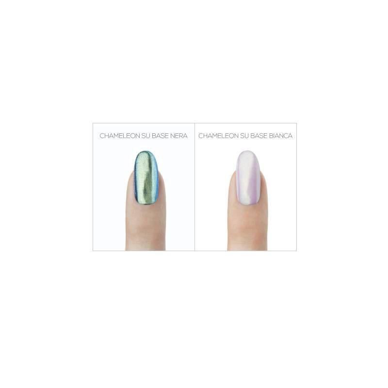 Be mirror pigmenti unghie specchio colore chameleon estrosa - Unghie gel specchio ...