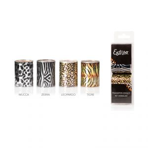 Set 4 Transfer Effect Animalier - Cartine Trasferibili Nails - Estrosa