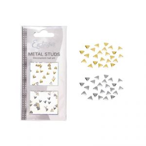Borchie Metal Studs - Triangle 4mm - Estrosa