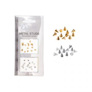 Borchie Metal Studs - Cone 3mm - Estrosa