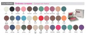 Ombretti compatti - Kent's Make Up