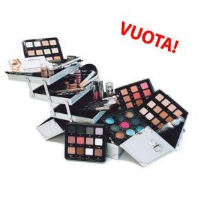 Valigia alluminio Duo Vuota - Phito Cinecittà Make Up