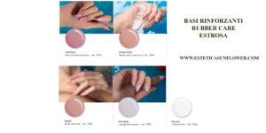 Base rubber care per smalto semipermanente - Estrosa (5 colori)