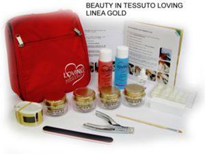 Beauty in tessuto - Linea Gold - offerta