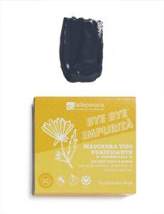 Bye Bye Impurità - Maschera Viso Purificante - La Saponaria