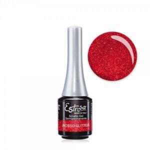 Rosso glitter - Semipermanente Estrosa  7 Ml
