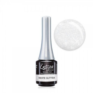 White glitter - Semipermanente Estrosa  7 Ml