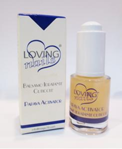 Papaya Activator - balsamo idratante cuticole - Loving Nails