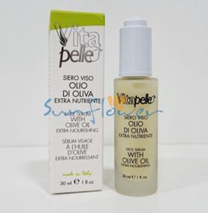 Siero Viso Olio d'oliva - VitaPelle