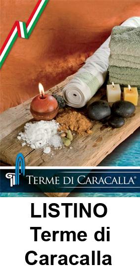 Listino Terme di Caracalla